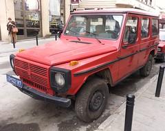 1988 Puch 300GD6 (FromKG) Tags: puch 300gd6 mercedesbenz red car suv kragujevac serbia 2019
