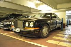 Bentley Continental R (Monde-Auto Passion Photos) Tags: voiture vehicule auto automobile bentley continental coupé noir black sportive ancienne classique rare rareté parking sousterrain foch france paris