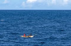 In the open sea / В открытом море (dmilokt) Tags: море sea dmilokt волна wave лодка boat