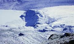 Terminal Moraine (zeesstof) Tags: geo:lat=4707449601 geo:lon=1275214156 geotagged zeesstofsmom kodachrome film 35mmslidefilm mamiya 1969 summerholiday mountains alps austrianalps triptothegrossglockner snow snowinsummer glacier pasterzeglacier grossglockner 3798m highestmountaininaustria glacialdeposits moraine terminalmoraine morainelake