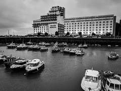 Folkestone Harbour and The Burstin Hotel (BeerAndLoathing) Tags: pixelxl december googlepixel england winter uktrip winter2018 trip 2018 android cellphone pixel google kent unitedkingdom gb