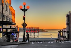 Sunset View over Pike Place Market (greensteves) Tags: seattle pikeplace sunset