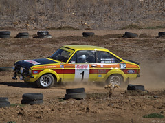 On the track 1a (ozbuglady) Tags: escort ford carr car iyk000 john hadden helen