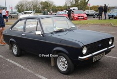 Ford Escort (2072ZF). (Fred Dean Jnr) Tags: corkinternationalcarshow cork april2019 corkairport businesspark ford escort mkii 2072zf zf