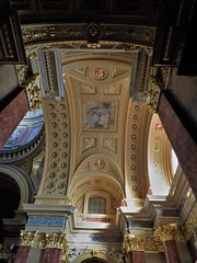 St. Stephen's Basilica (Normann) Tags: hungary budapest basilica church ceiling