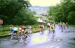 Slide 137-27 (Steve Guess) Tags: albury guildford surrey milk race cycle bike cyclists england gb uk
