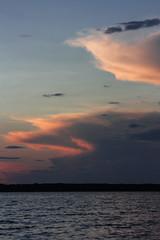 135-1 (Andre56154) Tags: schweden sweden sverige wasser water see lake wolke cloud himmel sky sunset landscape