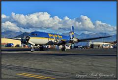 N451CE Everts Air Cargo (Bob Garrard) Tags: n451ce everts air cargo douglas dc6a r6d1 liftmaster dc6 us navy buno 131609 usn anc panc n804cs