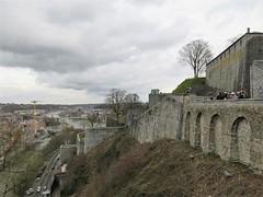 Citadelle and view to the confluence, Namur, Belgium (Paul McClure DC) Tags: namur namen belgium belgique wallonia wallonie feb2018 historic architecture castle citadel ardennes