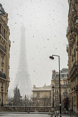 Paris Under the Snow (Alexander JE Bradley) Tags: snow aperturetours paris magical 2470mmf28 d500 nikkor nikon europe france îledefrance 75007 eiffeltower toureiffel city architecture buildings tower monument historicalmonument landmark monumenthistorique nationalmonument town urban cityscape noperson street outdoor day winter hiver alexanderjebradley photograph photography travel tourism travelphotography wwwalexanderjebradleycom wwwaperturetourscom parisbanksoftheseine unesco worldheritage heritage snowflake nopeople streetscape road fr