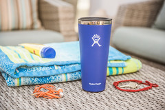 Hydroflask insulated mug in living room