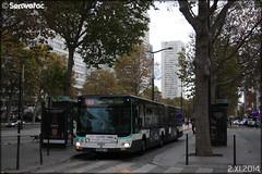 Man Lion's City G - RATP (Régie Autonome des Transports Parisiens) / STIF (Syndicat des Transports d'Île-de-France) n°4610 (Semvatac) Tags: semvatac photo bus tramway métro transportencommun man lion'scityg 300qzp75 ratp régieautonomedestransportsparisiens stif syndicatdestransportsdîledefrance 183 rougetdelisle terminusportedechoisy boulevardmassena paris 13èmearrondissement