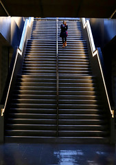 'Turbine Hall' (Andrew@OxfordPart2) Tags: tate modern art gallery london thames south bank turbine hall steps stairs street