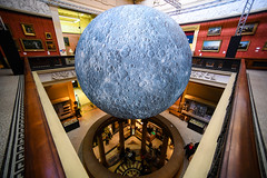 Jerram's moon 5 (Chilanga Cement) Tags: moon harrismuseum harrispreston jerramsmoon lukejerram preston museum lancashire nikon nik nikond850 d850 wide wideangle indoors availablelight