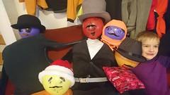 DSC_3161 (majorbonnet) Tags: 2019 seattle ballard smoltenhagen rasmus balloons head mustaches hats friends pretend makebelieve mafioso gang mafia permanentmarker snowday wawx