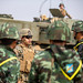 Briefs to Royal Thai Soldiers  about the M142 High Mobility Artillery Rocket System during Cobra Gold