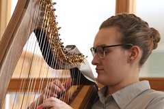 2 of Harps 1586 (Tony Withers photography) Tags: musicians harpists duo adel karina wilson music
