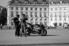 DSCF2082 (LexomIA) Tags: bordeaux street urbain bw nb streetphotography