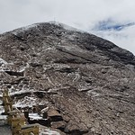The Mount Chacaltaya (5,421 meters or 17,785 ft), the Cordillera Real, Bolívia, South America. thumbnail