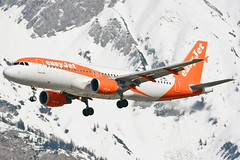 OE-IVK (toptag) Tags: airbusa320214 oeivk inn lowi innsbruck aviation easyjet europe tirol winter snow mountain