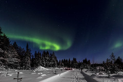 Z19_0152 LT (Zoran Babich) Tags: winter snow lapland lappi finland suomi northernlights auroraborealis
