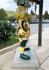 Where-O-Where Is Stomper?  [from Stomper In The Town] (ArtFan70) Tags: whereowhereisstomper stomperinthetown colinandersen andersen oaklandzoo zoo grassvalley oakland california ca unitedstates usa america art statue sculpture mascot baseball bayarea professionalbaseball probaseball sports athletics stomper elephant animal oaklandathletics oaklandas as mlb majorleaguebaseball