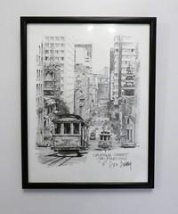 A Taste of Home (jhitzeman) Tags: artprint sanfrancisco cablecar