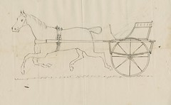 Patent application for a one-wheeled sulky or buggy, from Mr Cottell, Roma, 20 April 1881 (Queensland State Archives) Tags: invention inventor buggy horse horsedrawn sulky 1881 roma cottell patent drawing sketch queensland history historical archives 5195 1367648 ricottell onewheeledsulky 1880s