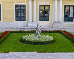 Grounds of Schonbrunn Palace 2 (rschnaible) Tags: vienna austria europe schonbrunn palace castle old history historical outdoor sightseeing building architecture statue monument