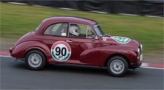 "Morris ""Moggy"" Minor (Mister Oy) Tags: morris minor moggy car motorsport race racing oultonpark deerleap circuit classic fujixpro2 fuji50140mmf28 panning motion movement"