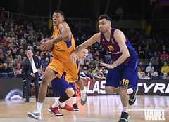 DSC_0224 (VAVEL España (www.vavel.com)) Tags: fcb barcelona barça basket baloncesto canasta palau blaugrana euroliga granca amarillo azulgrana canarias culé