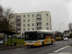 Iveco Urbanway 12 GNV n°637 (ChristopherSNCF56) Tags: bus transport urbains quimper qub iveco urbanway 12 gnv ligne a 637 illiqo