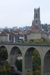 Pont de Zaehringen (mitko_denev) Tags: schweiz switzerland suisse svizzera fribourg freiburg freiburgimimüechtland freiburgimimueechtland üechtland ueechtland швейцария фрибур фрайбург заане зане сарина сарин sarine saane brücke pont bridge мост церингер цеерингер zähringer zaeringen