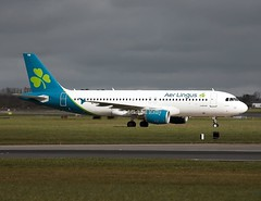 Aer Lingus                                      Airbus A320                                            EI-DVN (Flame1958) Tags: aerlingus aerlingusa320 aerlingusaeroplane aerlingusplane aerlingusaircraft a320 airbus airbusa320 eidvn dub eidw dublinairport ireland aerlingusnewlivery aerlingusrebranding 210319 0319 2019 8440