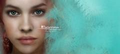 """Madamnesia_digital artist """"Turchese"""" (Madamnesia_illustrator) Tags: madamnesia digitalart digital artis colore turchese drawing illustrazione ritratto particolare"""
