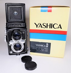 Yashica D from 1965 (http://www.yashicasailorboy.com) Tags: yashicad yashica tlr twinlens camera 120 6x6cm film japan studio photography 1960s