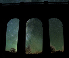 Let Your Dreams Take You Wherever You Want to (Trigger1980) Tags: milkyway mars trains brighton main line d7000 dark digital day long lights lens nikon nikond7000 nite night grade ii listed building ouse river valley viaduct