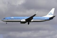 KLM 737-900 PH-BXR at London Heathrow LHR/EGLL (dan89876) Tags: klm royal dutch airlines boeing 737 737900 b739 phbxr london heathrow international airport 27l lhr egll