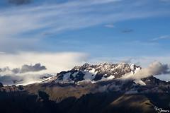 Chicon (Kusi Seminario) Tags: glacier glaciar glacial nevado snow nieve mountain montaña sky cielo clouds nubes clooudy nublado landscape paisaje outdoors nature travel explore andes andean southamerica sudamerica urubamba cusco peru sacredvalley