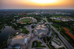 Olympiapark, Munich, 20180828 (G · RTM) Tags: olympiapark munich sunset
