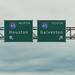Houston - Galveston Highway Signs - I-45