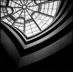 img412 (Jurgen Estanislao) Tags: guggenheim museum new york manhattan black white analog film vintage photography monochrome jurgen estanislao hasselblad 500 cm carl zeiss planar t 80mm f28 ilford hp5 plus kodak hc110 g