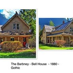Orillia Ontario - Canada - Barbney - Bell House - 1880 - Heritage Gothic  Cottage thumbnail