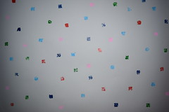 Pixels (Kate O'Kina) Tags: pixels kateokina abstractart abstract abstractionism paint painting squares dots colourful grey backgroundgrey painter artist forsale art modern contemporary gallery
