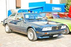 Maserati 2.5 Bi-Turbo 1984 30.9.2018 4173 (orangevolvobusdriver4u) Tags: maseratiitaly maserati italy 2018 archiv2018 car auto klassik classic oldtimer schweiz suisse switzerland bleienbach maserati25biturbo maserati25biturbo1984 25 biturbo 1984 sportwagen sportscar