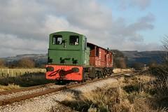 Class 03 D2182 Hailes 27-12-08 (Andy The V) Tags: d2182 brgreen hailes