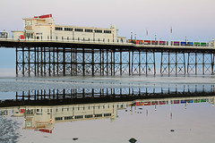 2018_05_06_0224 (EJ Bergin) Tags: sussex westsussex landscape worthing sunset beach sea seaside worthingpier seafront reflection