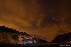 Nocturna (DOCESMAN) Tags: moto bike motor motorcycle motorrad motorcykel moottoripyörä motorkerékpár motocykel mototsikl honda nt700v ntv700 deauville docesman danidoces nocturna noche night