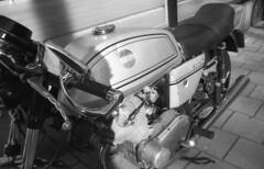 Laverda 750SF (Arne Kuilman) Tags: amsterdam nikon fm3a vivitar 28mm luckyshd iso100 id11 7minutes homedeveloped stock analogue film laverda 750sf motorcycle motorfiets motor italian