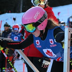 2019 U14 Provincials hosted by Prince George Ski Club - Gwen Bertucci at the dual start